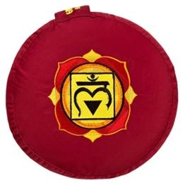 1. Meditationskissen - Wurzelchakra (Muladhara)