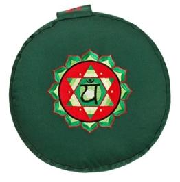 4. Chakra Meditationskissen - Herzchakra (Anahata)